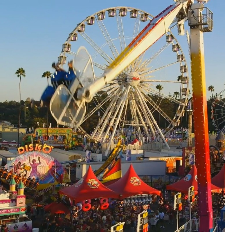 Ride at the LA Fair.