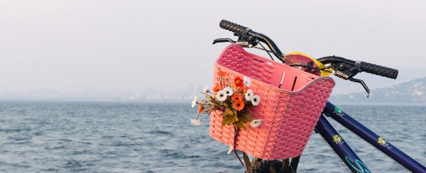 If your bike doesn't have a basket, you need one!
