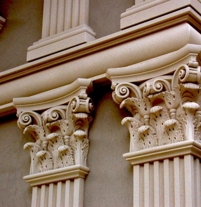 Amazing work on these pilasters.