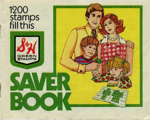 S&H Green Stamps book